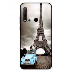 Durable Paris Eiffel Tower Cover For Huawei P20 Lite 2019