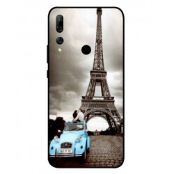 Durable Paris Eiffel Tower Cover For Huawei Y9 Prime 2019