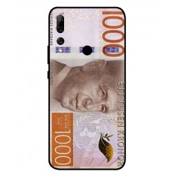 Durable 1000Kr Sweden Note Cover For Huawei Y9 Prime 2019