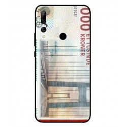1000 Danish Kroner Note Cover For Huawei Y9 Prime 2019