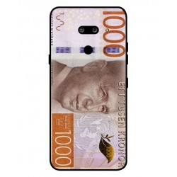 Durable 1000Kr Sweden Note Cover For LG G8 ThinQ