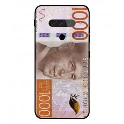 Durable 1000Kr Sweden Note Cover For LG G8S ThinQ