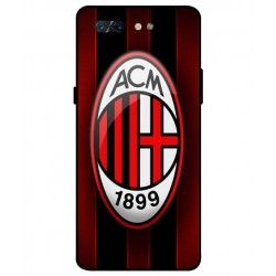 Durable AC Milan Cover For ZTE Nubia X