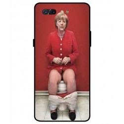 Durable Angela Merkel On The Toilet Cover For ZTE Nubia X