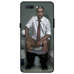 Durable Obama On The Toilet Cover For ZTE Nubia X