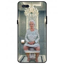 Durable Queen Elizabeth On The Toilet Cover For ZTE Nubia X