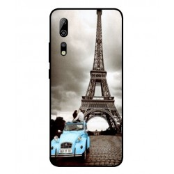 Durable Paris Eiffel Tower Cover For ZTE Axon 10 Pro