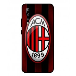 Durable AC Milan Cover For ZTE Axon 10 Pro