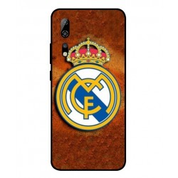 Durable Real Madrid Cover For ZTE Axon 10 Pro