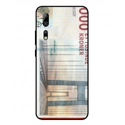 1000 Danish Kroner Note Cover For ZTE Axon 10 Pro
