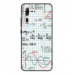 Durable Mathematics Cover For ZTE Axon 10 Pro