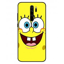 Durable SpongeBob Cover For Xiaomi Redmi Note 8 Pro