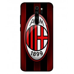 Durable AC Milan Cover For Xiaomi Redmi Note 8 Pro