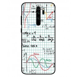 Durable Mathematics Cover For Xiaomi Redmi Note 8 Pro