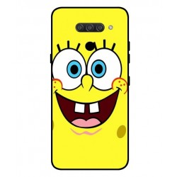 Durable SpongeBob Cover For LG Q60
