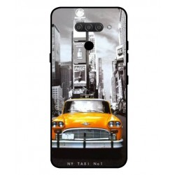 Durable New York Cover For LG Q60