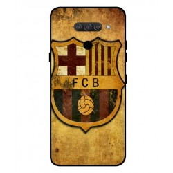 Durable FC Barcelona Cover For LG Q60