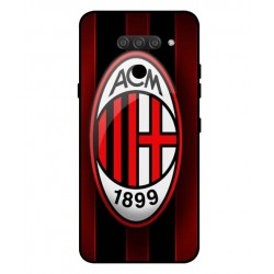 Durable AC Milan Cover For LG Q60