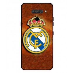 Durable Real Madrid Cover For LG Q60