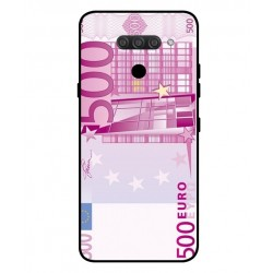 Durable 500 Euro Note Cover For LG Q60