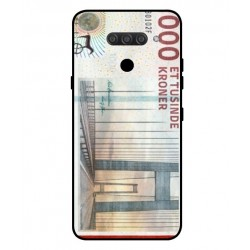 1000 Danish Kroner Note Cover For LG Q60