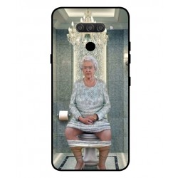 Durable Queen Elizabeth On The Toilet Cover For LG Q60