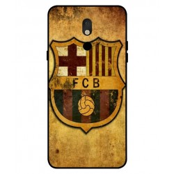 Durable FC Barcelona Cover For LG Stylo 5