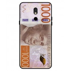 Durable 1000Kr Sweden Note Cover For LG Stylo 5