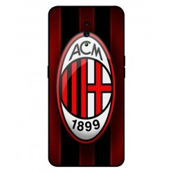 Durable AC Milan Cover For Oppo Reno Z