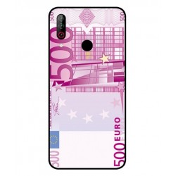 Durable 500 Euro Note Cover For LG W30