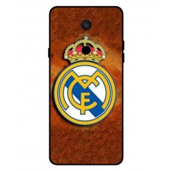 Durable Real Madrid Cover For LG Q9