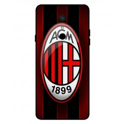 Durable AC Milan Cover For LG Q9