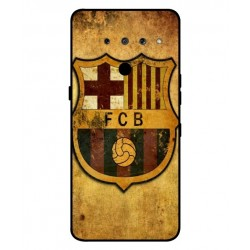 Durable FC Barcelona Cover For LG V50 ThinQ 5G