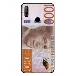 Durable 1000Kr Sweden Note Cover For LG W30 Pro