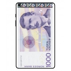 1000 Norwegian Kroner Note Cover For Samsung Galaxy Tab A 8.0 2019