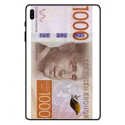 Durable 1000Kr Sweden Note Cover For Samsung Galaxy Tab S6