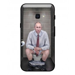 Durable Vladimir Putin On The Toilet Cover For Samsung Galaxy Xcover 4s