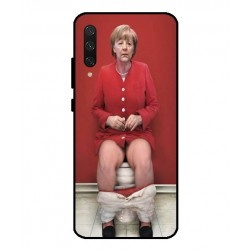 Durable Angela Merkel On The Toilet Cover For Xiaomi Mi CC9