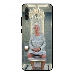 Durable Queen Elizabeth On The Toilet Cover For Xiaomi Mi CC9
