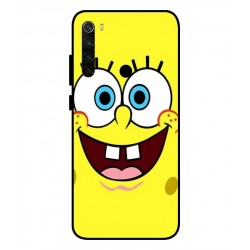 Durable SpongeBob Cover For Xiaomi Redmi Note 8