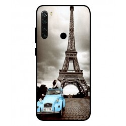 Durable Paris Eiffel Tower Cover For Xiaomi Redmi Note 8