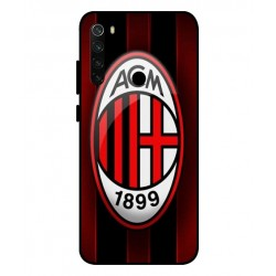 Durable AC Milan Cover For Xiaomi Redmi Note 8