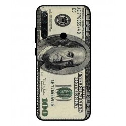 Durable 100 Dollar Note Cover For Xiaomi Redmi Note 8