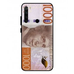 Durable 1000Kr Sweden Note Cover For Xiaomi Redmi Note 8