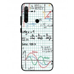 Durable Mathematics Cover For Xiaomi Redmi Note 8