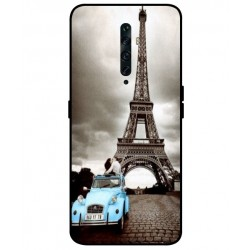 Durable Paris Eiffel Tower Cover For Oppo Reno 2