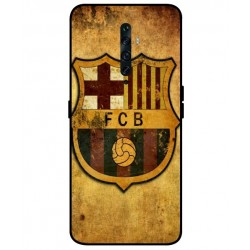 Durable FC Barcelona Cover For Oppo Reno 2