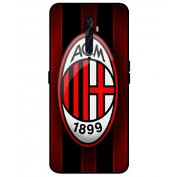 Durable AC Milan Cover For Oppo Reno 2