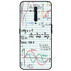 Durable Mathematics Cover For Oppo Reno 2