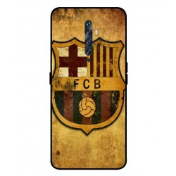 Durable FC Barcelona Cover For Oppo Reno 2F